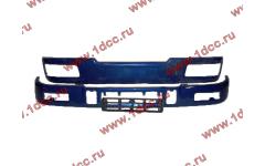 Бампер C синий верхний+нижний (в сборе) фото Белгород